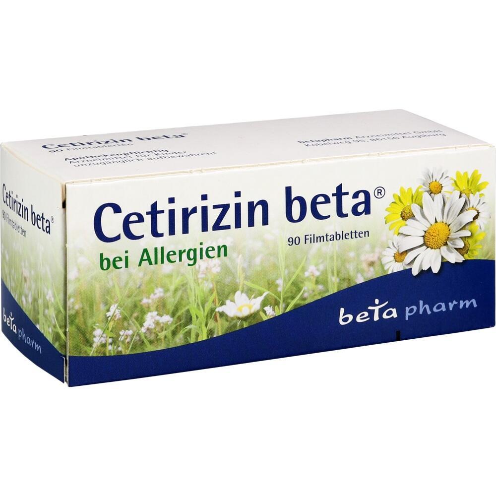 CETIRIZIN-ratiopharm Saft - Anwendung, Nebenwirkungen, Wechselwirkungen