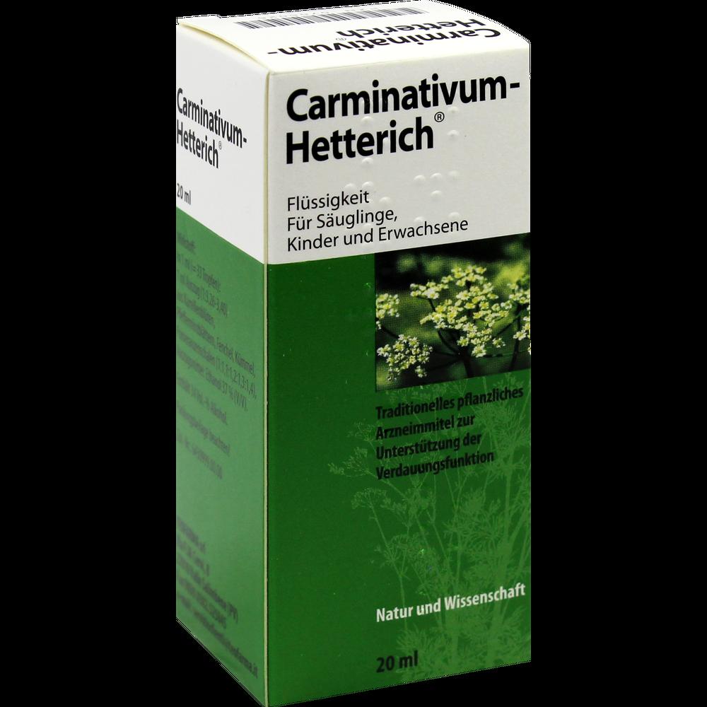 Carminativum Hetterich Erfahrungen