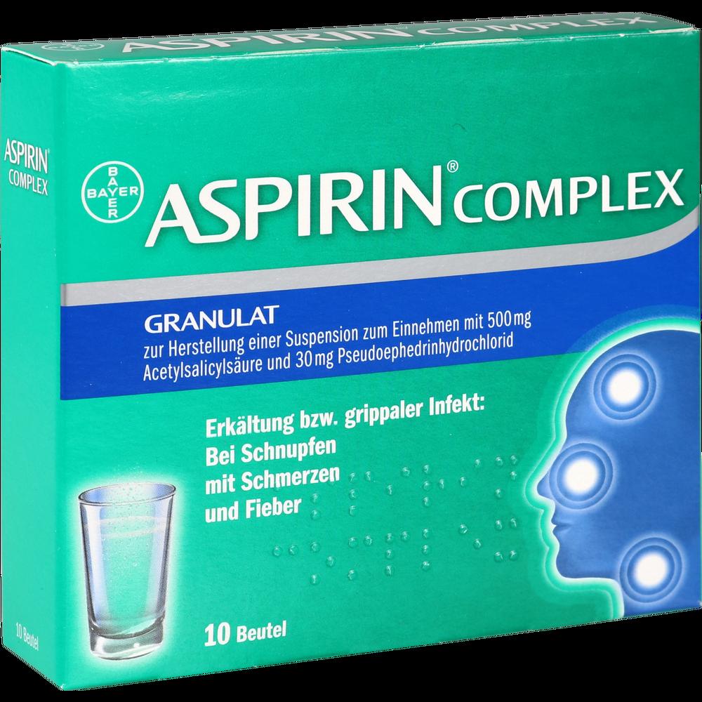 Aspirin Complex Und Ibuprofen Zeitabstand