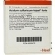 Acidum Sulfuricum Injeel Forte Ampullen PZN: 00009478