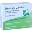 Bisacodyl Zentiva Magensaftresistente Tabletten PZN: 00364469