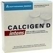 Calcigen D Intens 1000 Mg/880 I.e. Kautabletten PZN: 00417102