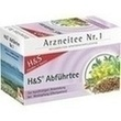 H&s Abführtee Filterbeutel PZN: 02070513