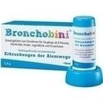 Verpackungsbild(Packshot) von BRONCHOBINI Globuli