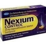 Verpackungsbild(Packshot) von NEXIUM Control 20 mg magensaftresistente Tabletten