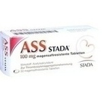 Verpackungsbild(Packshot) von ASS STADA 100 mg magensaftresistente Tabletten