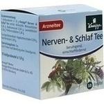 Verpackungsbild(Packshot) von KNEIPP Tee Nerven und Schlaf Filterbeutel