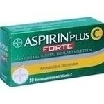 Verpackungsbild(Packshot) von ASPIRIN plus C forte 800 mg/480 mg Brausetabletten
