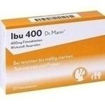 Verpackungsbild(Packshot) von IBU 400 Dr.Mann Filmtabletten