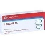 Verpackungsbild(Packshot) von LAXANS AL magensaftresistente überzogene Tabletten