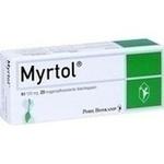 Verpackungsbild(Packshot) von MYRTOL magensaftresistente Weichkapseln