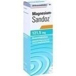 Verpackungsbild(Packshot) von MAGNESIUM SANDOZ 121,5 mg Brausetabletten