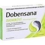 Verpackungsbild(Packshot) von DOBENSANA zuckerfrei Zitronengesc.1,2mg/0,6mg Lut.