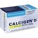 Verpackungsbild(Packshot) von CALCIGEN D Citro 600 mg/400 I.E. Kautabletten