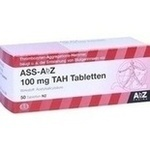Verpackungsbild(Packshot) von ASS AbZ 100 mg TAH Tabletten