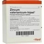 Verpackungsbild(Packshot) von ZINCUM VALERIANICUM INJEEL Ampullen