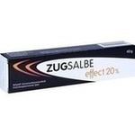 Verpackungsbild(Packshot) von ZUGSALBE effect 20% Salbe