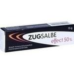 Verpackungsbild(Packshot) von ZUGSALBE effect 50% Salbe