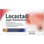 Verpackungsbild(Packshot) von LOCASTAD gegen Halsschmerzen Orange Lutschtabl.