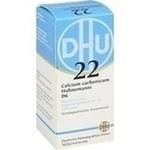 Verpackungsbild(Packshot) von BIOCHEMIE DHU 22 Calcium carbonicum D 6 Tabletten