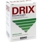 Verpackungsbild(Packshot) von DRIX Bisacodyl Dragees