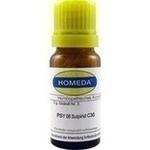 HOMEDA PSY 08 Sulpirid C 30 Globuli