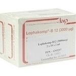 Verpackungsbild(Packshot) von LOPHAKOMP B12 3.000 μg Injektionslösung