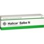 Verpackungsbild(Packshot) von HALICAR Salbe N