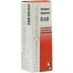 Verpackungsbild(Packshot) von HERPES-GASTREU R68 Tropfen zum Einnehmen