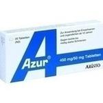 Verpackungsbild(Packshot) von AZUR Tabletten