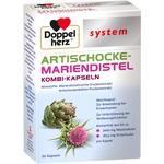Verpackungsbild(Packshot) von DOPPELHERZ Artischocke-Mariendistel system Weichk.