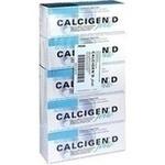 Verpackungsbild(Packshot) von CALCIGEN D forte 1000 mg/880 I.E. Brausetabletten