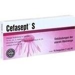 Verpackungsbild(Packshot) von CEFASEPT S Injektionslösung