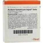 Verpackungsbild(Packshot) von ACIDUM FUMARICUM INJEEL forte Ampullen