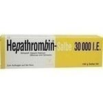 Verpackungsbild(Packshot) von HEPATHROMBIN Salbe 30.000