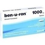 Verpackungsbild(Packshot) von BEN-U-RON 1.000 mg Suppositorien
