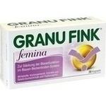 Verpackungsbild(Packshot) von GRANU FINK Femina Kapseln