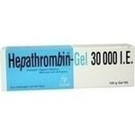 Verpackungsbild(Packshot) von HEPATHROMBIN Gel 30.000