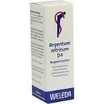 Verpackungsbild(Packshot) von ARGENTUM NITRICUM D 4 Augentropfen