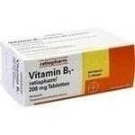 VITAMIN B1-RATIOPHARM 200 mg Tabletten