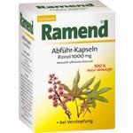 Verpackungsbild(Packshot) von RAMEND Abführ-Kapseln Rizinol 1000 mg Weichkapseln