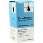 Verpackungsbild(Packshot) von ENDO PARACTOL Emulsion
