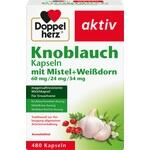 Verpackungsbild(Packshot) von DOPPELHERZ Knobl.Kap.m.Mistel+Weißdorn 60/24/54 mg