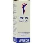 Verpackungsbild(Packshot) von MEL D 3 Augentropfen