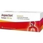 Verpackungsbild(Packshot) von ASPECTON Eukaps 100 mg magensaftres.Weichkapseln