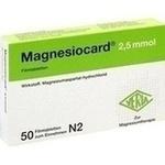 Verpackungsbild(Packshot) von MAGNESIOCARD 2,5 mmol Filmtabletten