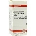 Verpackungsbild(Packshot) von HEPAR SULFURIS D 10 Tabletten