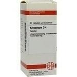 Verpackungsbild(Packshot) von KREOSOTUM D 4 Tabletten