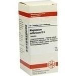 MAGNESIUM SULFURICUM D 6 Tabletten