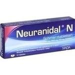 Verpackungsbild(Packshot) von NEURANIDAL N Tabletten